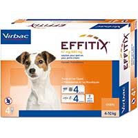 effitix antiparassitario per cani pulci zecche flebotomi e zanzare