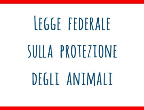 Legge federale sulla protezione degli animali